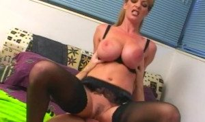Skinny Huge Titty MILF Sara Ashley Fucked in Every Hole -Full Scene