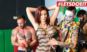 LETSDOEIT – Busty Amina Danger Group Torture and Rough sex