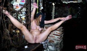 hairy pussy flashing street party fantasy fest 19 new