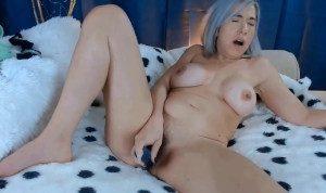 Horny busty Miss