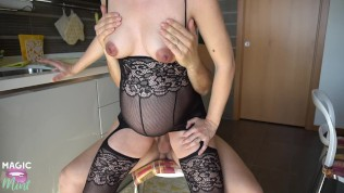 9 MONTHS PREGNANT MOM GET FUCKED IN THE KITCHEN – MAGICMINTCOUPLE