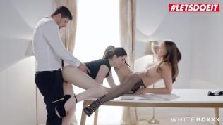 WhiteBoxxx – Stacy Cruz & Mia Evans Fucking Gorgeous Czech Babe Intense Threeway Fucking