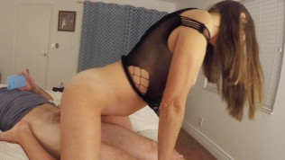 Sextape 3 pt2 – Wife Rides Reverse Cowgirl, Gets Her Ass Played With