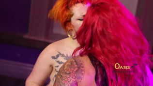 Dahlia Dee's first Girl on Girl with Max Alchemy