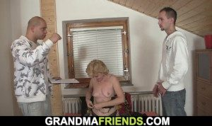 Shaved Mature Begging For Double Penetration