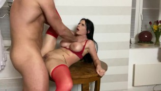 She begs him to stop but that pussy its way to good to stop