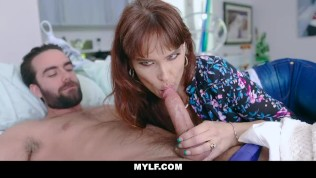 MYLF – Milf Step Mom And Son Have Oral Sex And Fuck