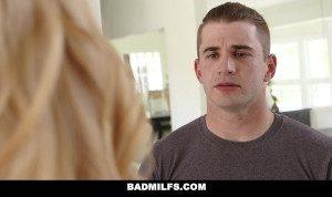BadMilfs – Hot Professor Seduces Student Into threesome