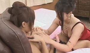 Japanese Lesbian Strap On