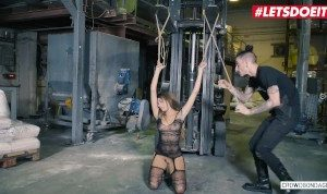 LETSDOEIT – Hot Babe Baby Nicols Fucked Hard At Her First Bondage Party