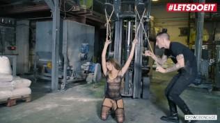 LETSDOEIT – Hot Babe Baby Nicols Fucked Hard At Her First Bondage Party