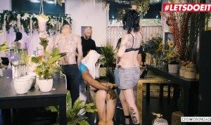 LETSDOEIT – Slutty Blonde Fucked Hard By a BBC at BSDM Party