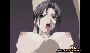 Naughty Mother with huge tits gangbang with 4 Students – Hentai.xxx