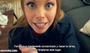 Subtitulado en español Madrastra Britney Amber